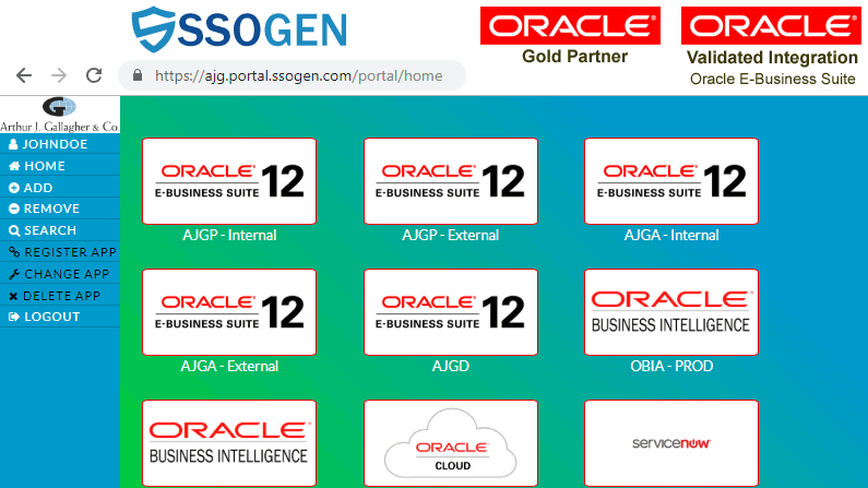NextGen SSO for Oracle EBS, PeopleSoft, JD Edwards, and SAP